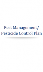 Cannabis Pesticide Control Plan