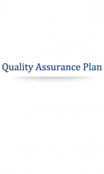 Cannabis Quality Assurance Plan
