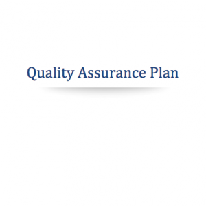 Cannabis Quality Assurance Plan Template