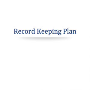 marijuana record keeping plan
