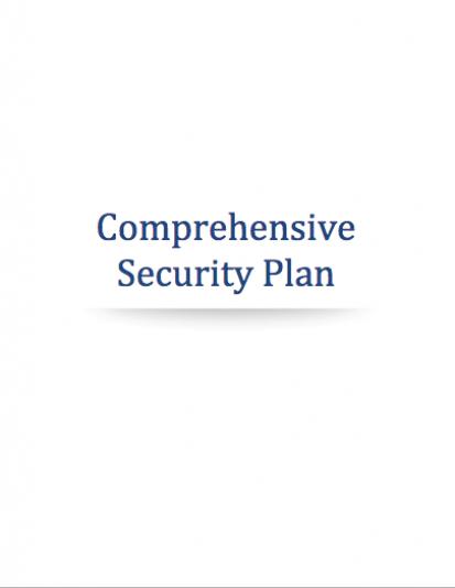 Cannabis Security Plan
