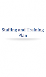 Cannabis Staffing and Training Plan