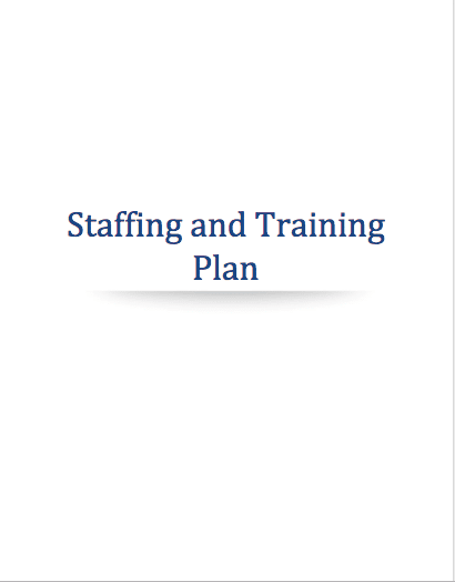 Marijuana Staffing Training Plan