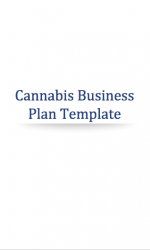 Cannabis Business Plan Template