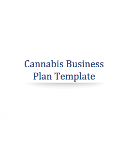 Cannabis Business Plan Template