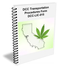 DCC Cannabis Distribution Procedures