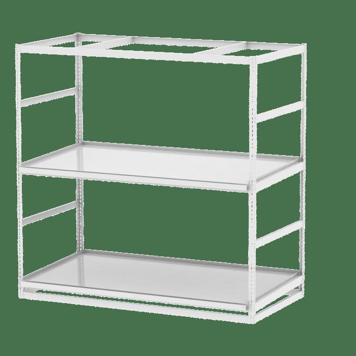 Cannabis Vertical Rack Example