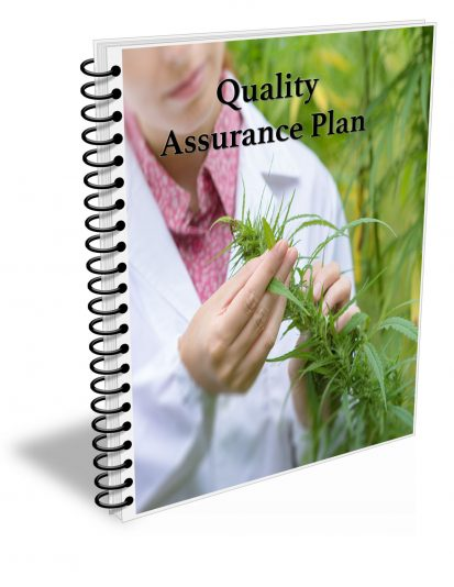 Cannabis Cultivation Quality Assurance Plan