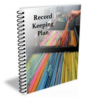 cannabis record keeping plan